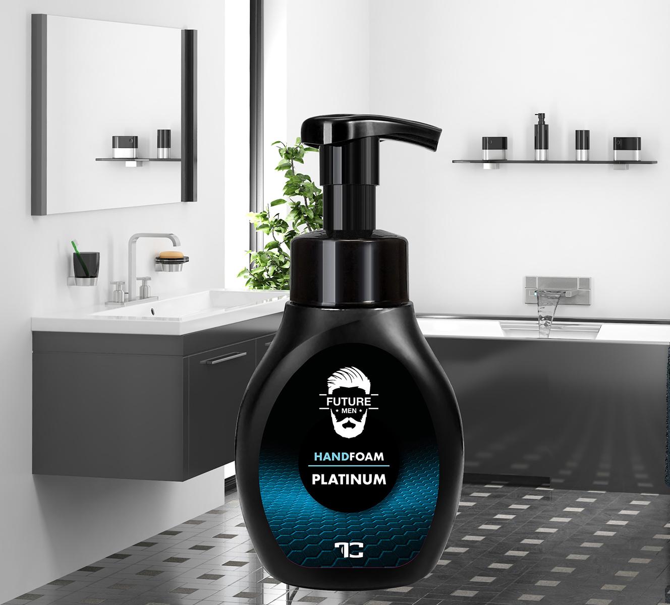 BB0925-Penové mydlo na ruky aj telo PLATINUM