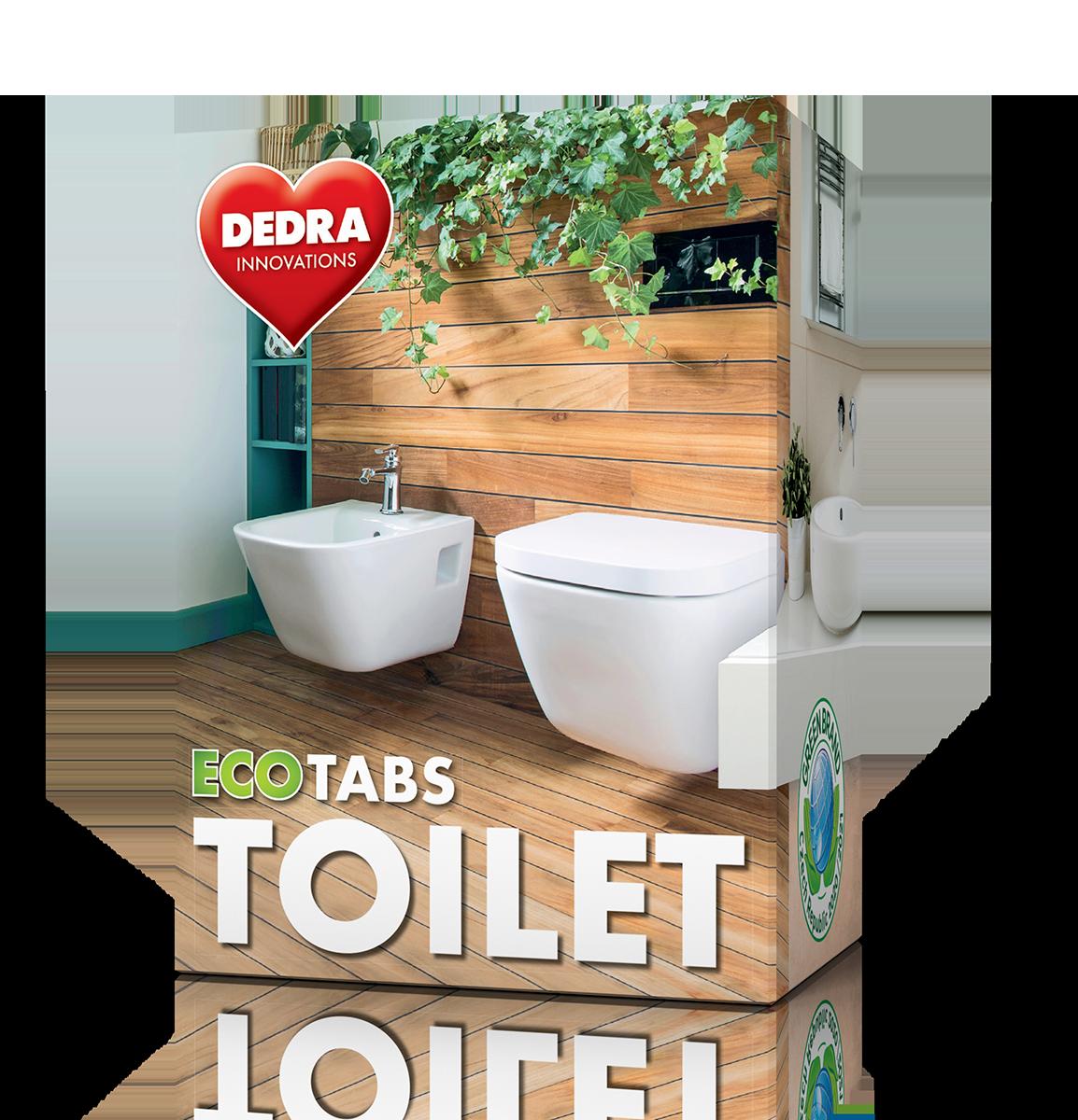 EKO samočisticí tablety do WC odpadu ECOTABS TOILET