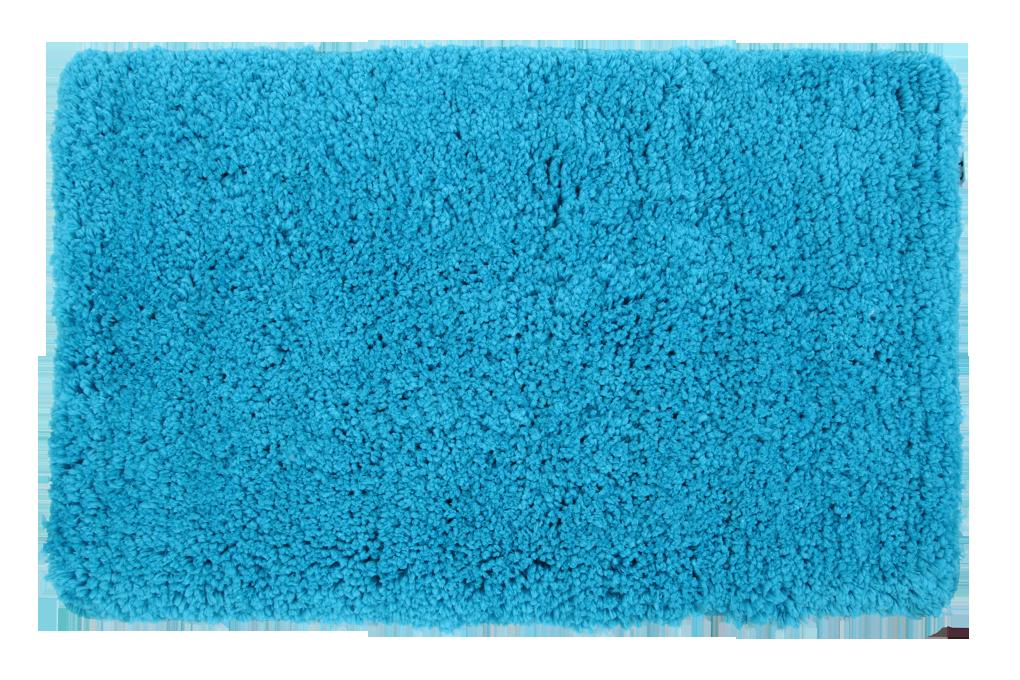 Koupelnová předložka LAGOON, 50x80 cm modrá