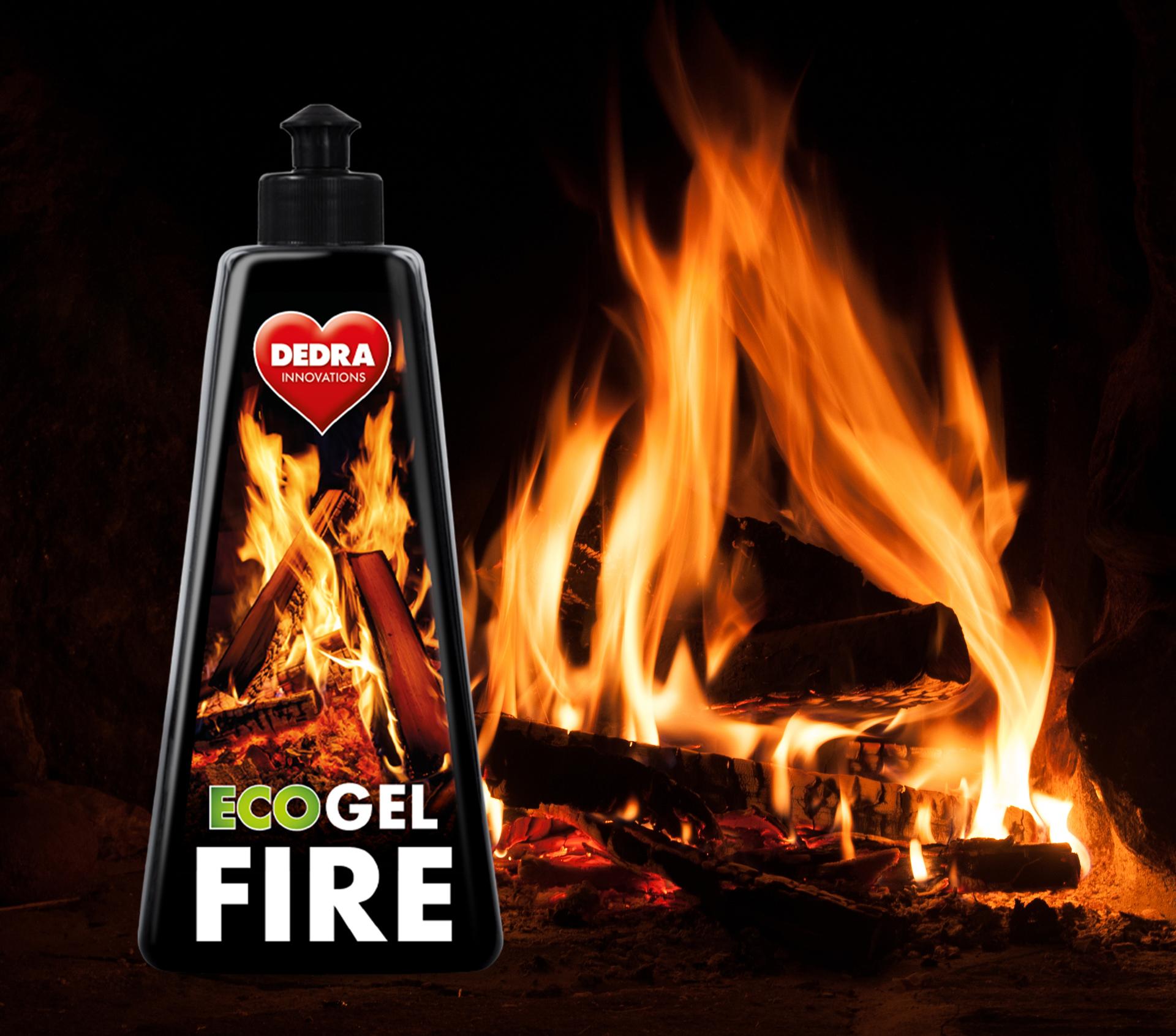 Ekologický gelový podpalovač do krbů a grilů ECO GEL FIRE