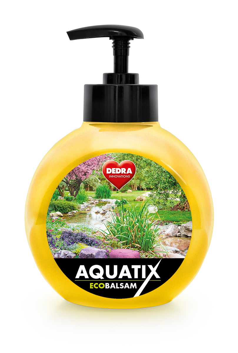 EKO koncentrát na ruční mytí nádobí, ECOBALSAM AQUATIX®, infinity, s pumpičkou