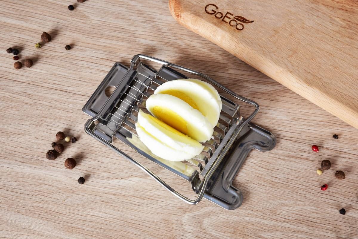 VAJÍČKÁTOR robustní nerezový kráječ na vajíčka