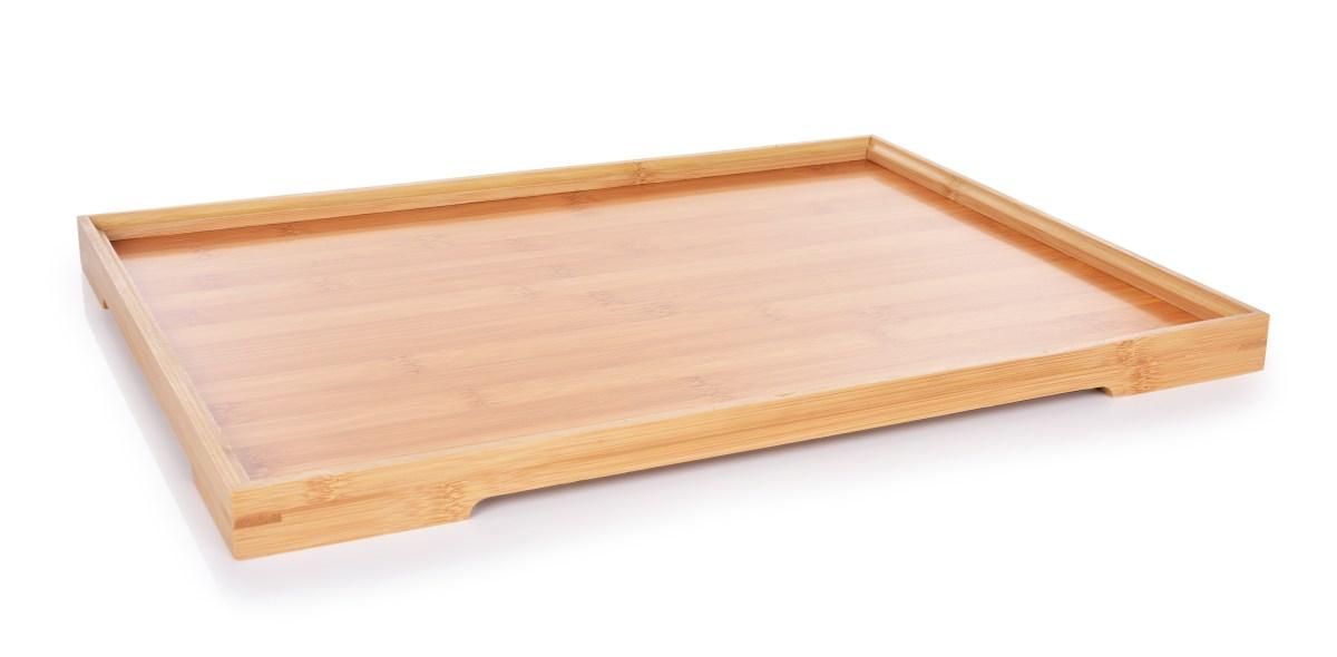 Bambusový tác/podnos s mírně zvýšeným okrajem GoEco®