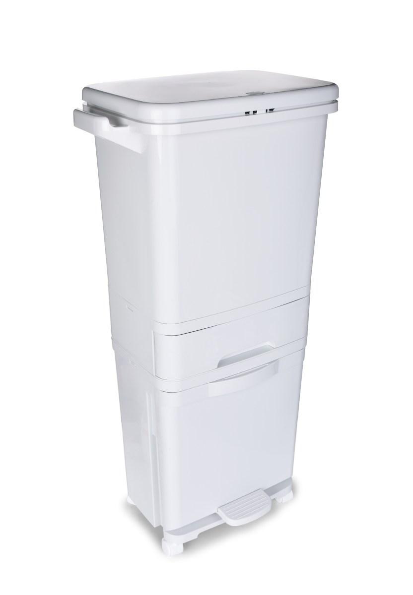 DUO PATROVÝ KOŠ na tříděný odpad 3v1