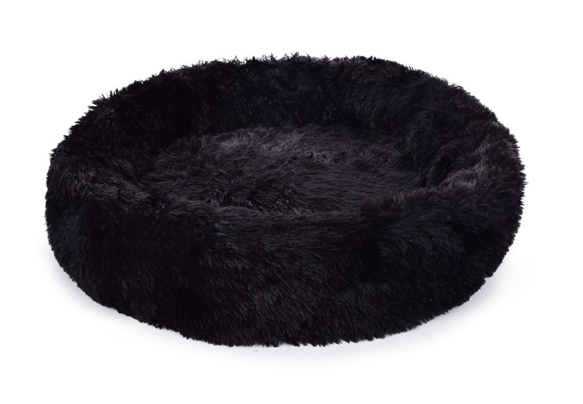 80 cm Polstrovaný pelíšek z jemného LAGOON VELVET materiálu
