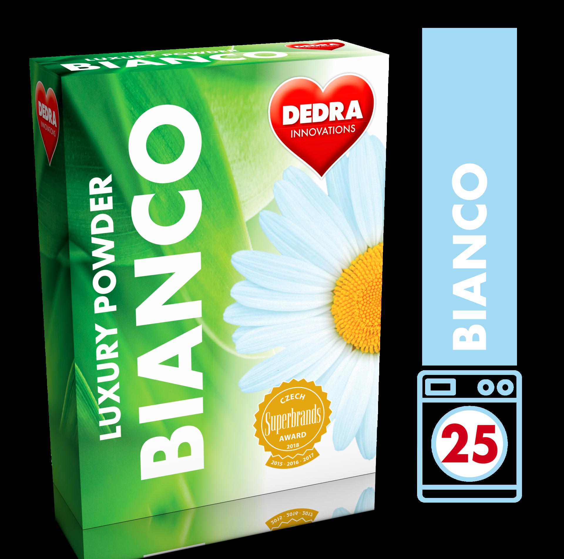 BIANCO prací prášek na bílé prádlo, koncentrovaný