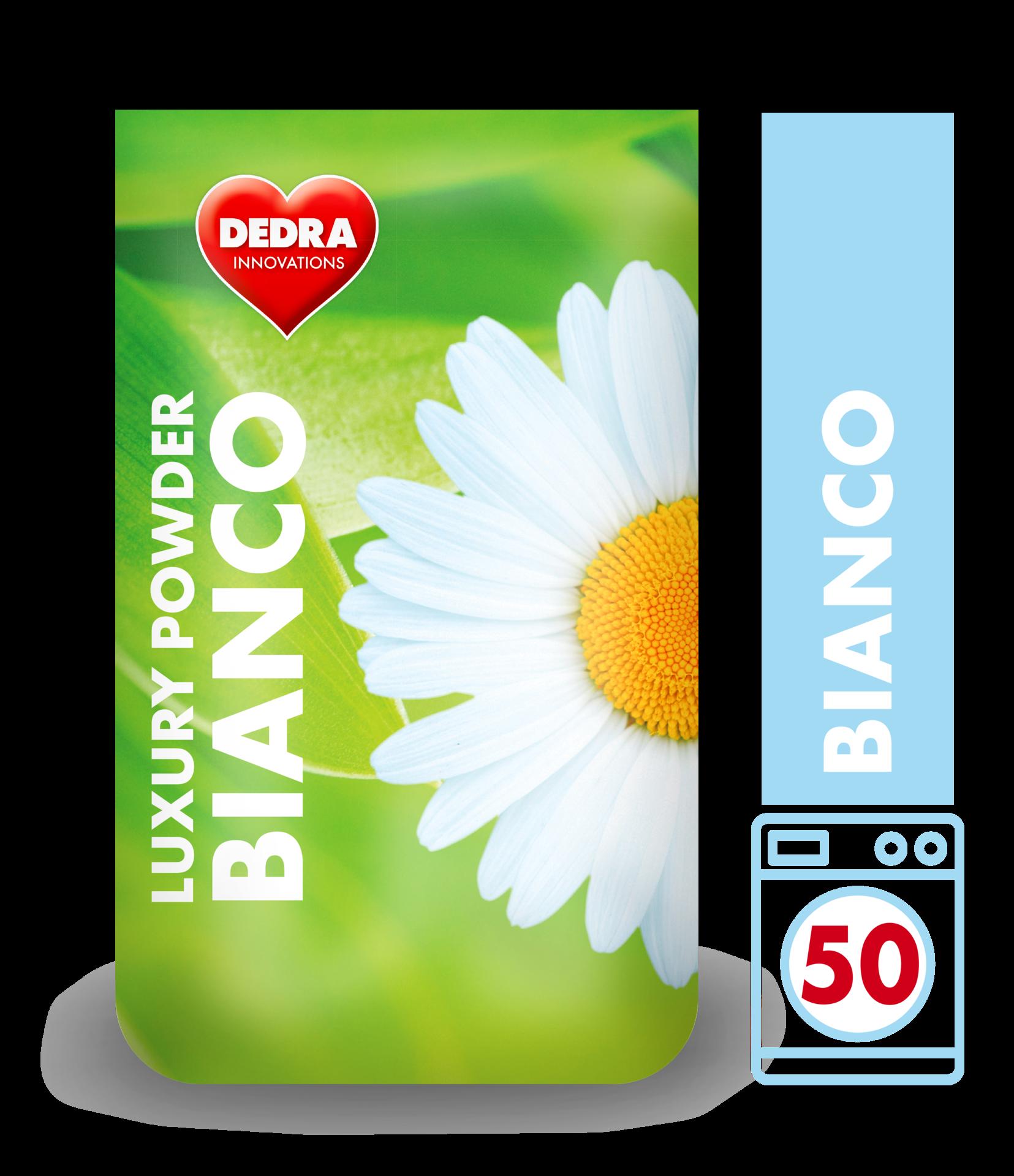 BIANCO prací prášek na bílé a světlé prádlo, koncetrovaný, v obalu GREENPACK