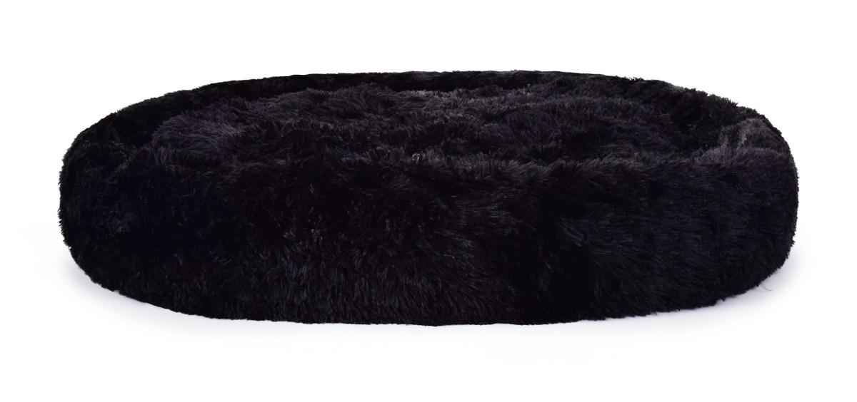 120 cm Polstrovaný pelíšek z jemného LAGOON VELVET materiálu