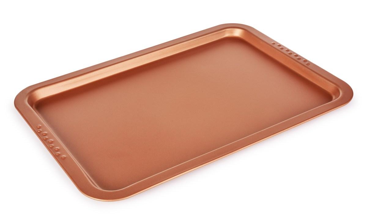 DA33151-Nízky plech na pečenie 38 x 26,5 cm, BIOPAN ® GOLD