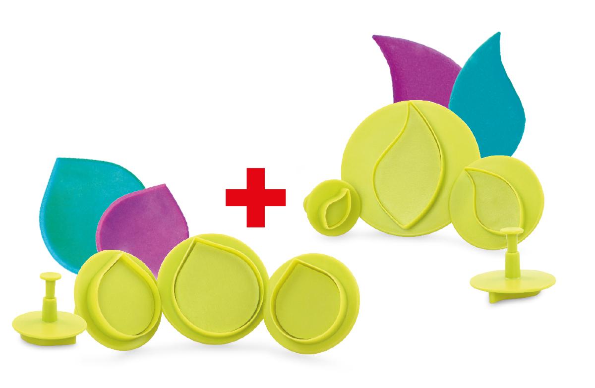 SADA 1+1 ZDARMA profesionální cukrářská tvořítka na marcipán