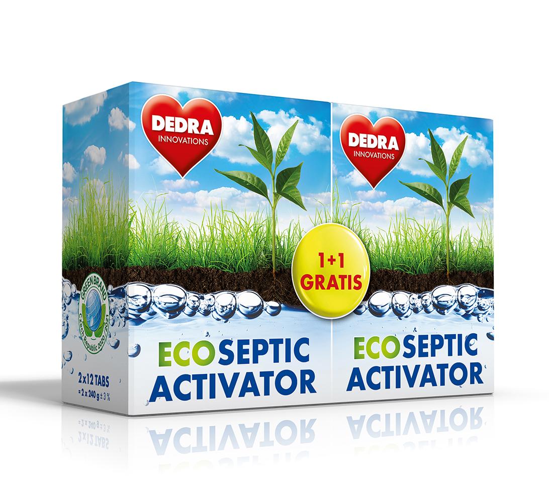 EKO aktivátor septiků ECO SEPTIC ACTIVATOR 1+1 GRATIS