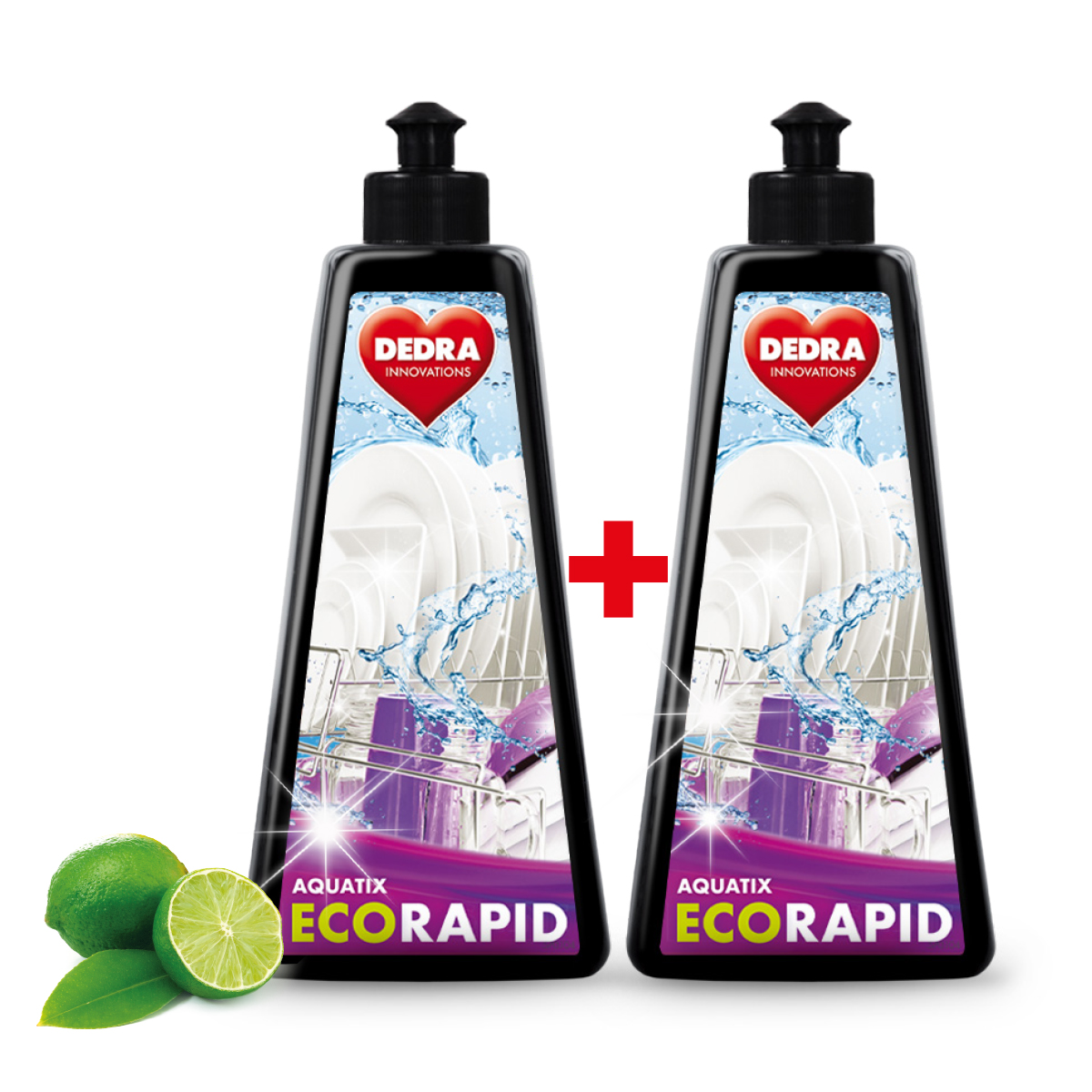 1+1 EKO gel do myčky ECORAPID AQUATIX® na 20 + 20 mycích cyklů