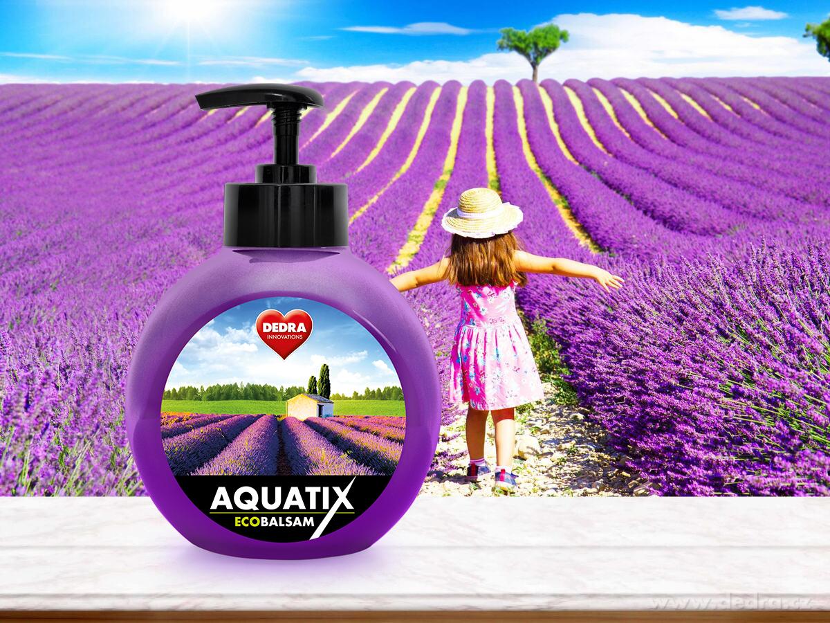 EKO koncentrát na ruční mytí nádobí, ECOBALSAM AQUATIX® relaxation, s pumpičkou