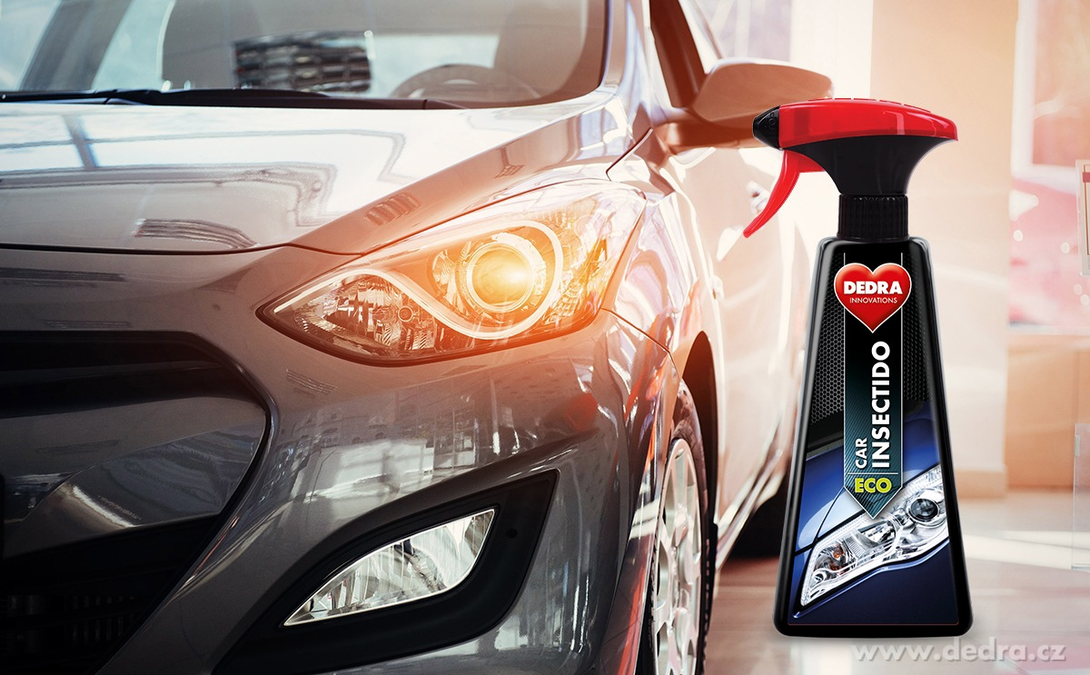 SADA 1+1 EKO odstraňovač hmyzu a nečistot z automobilových povrchů ECO CAR INSECTIDO