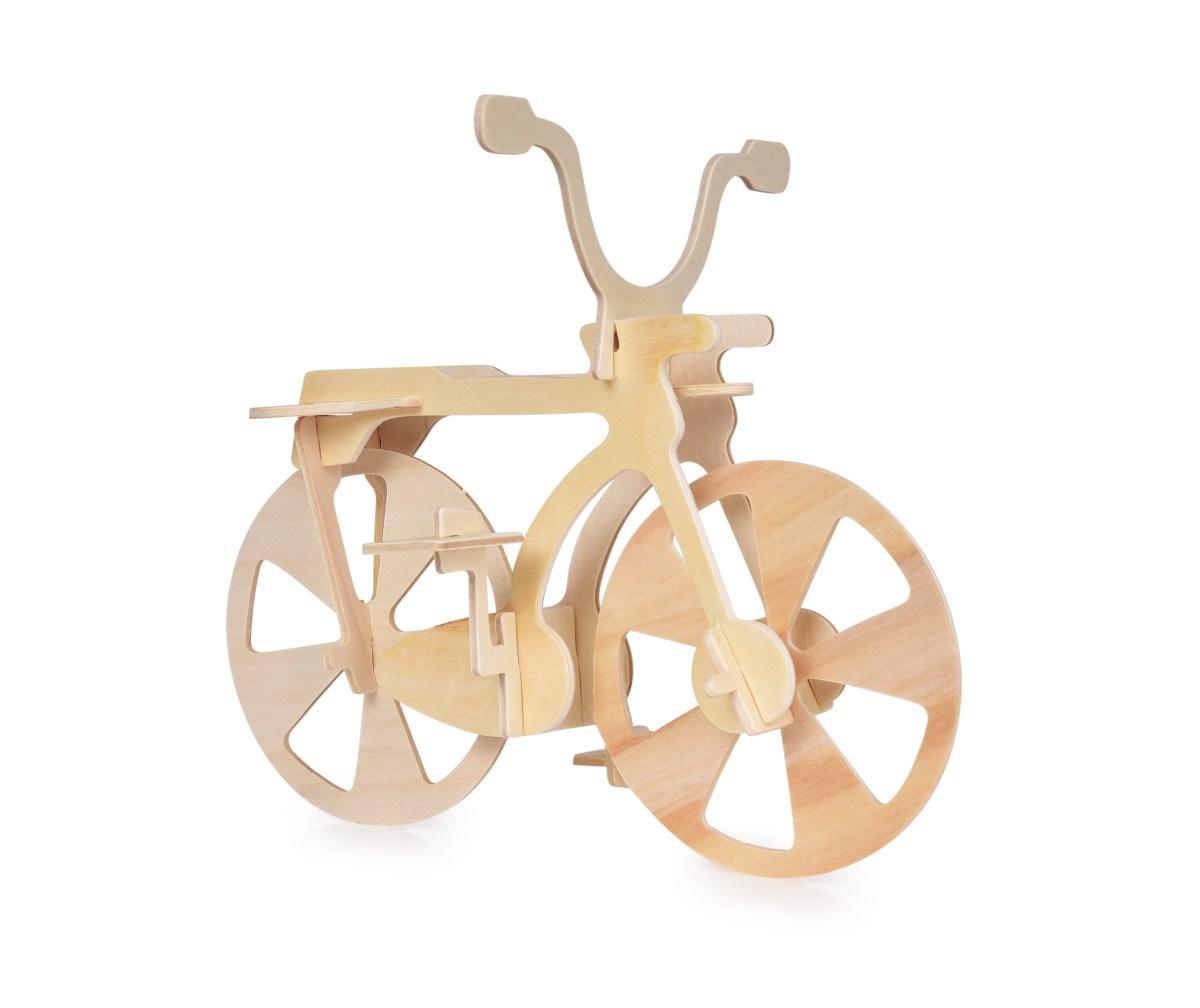 21 cm 3D skládací dřevěná stavebnice KOLO