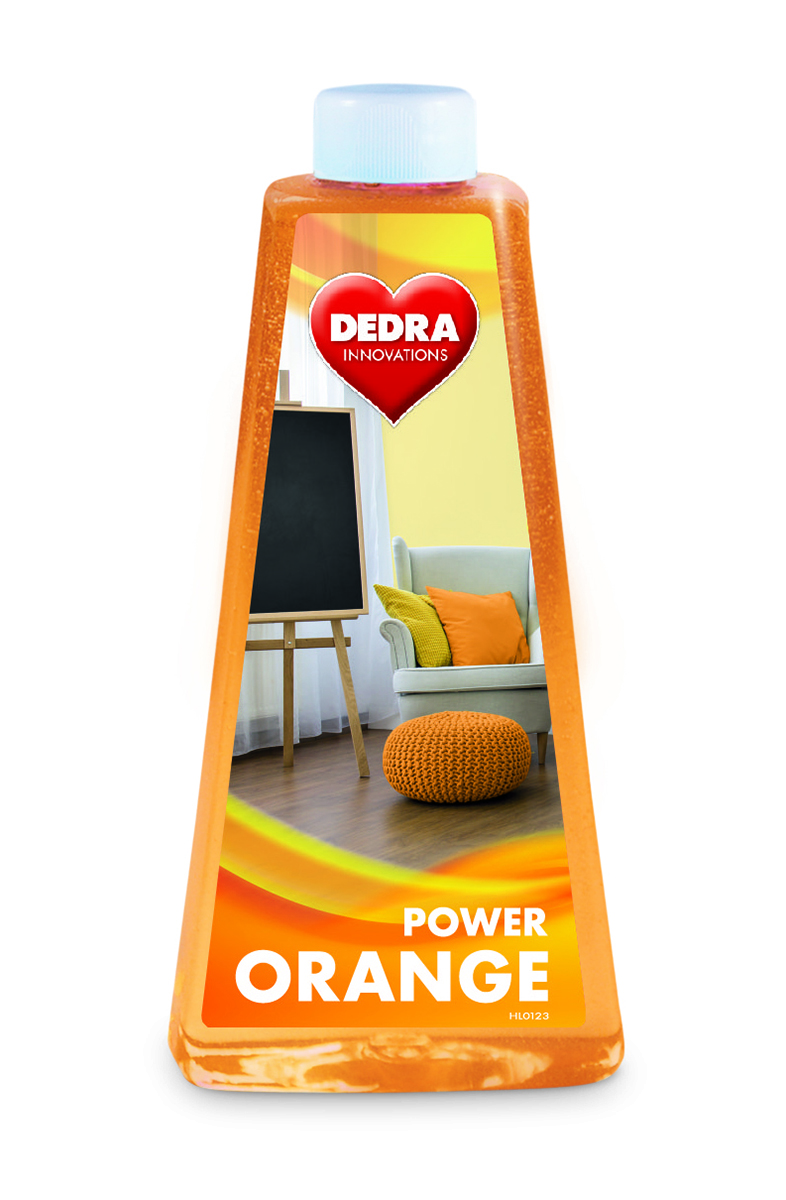 ORANGE POWER univerzální mycí prostředek na všechny typy podlah s pomerančovým olejem