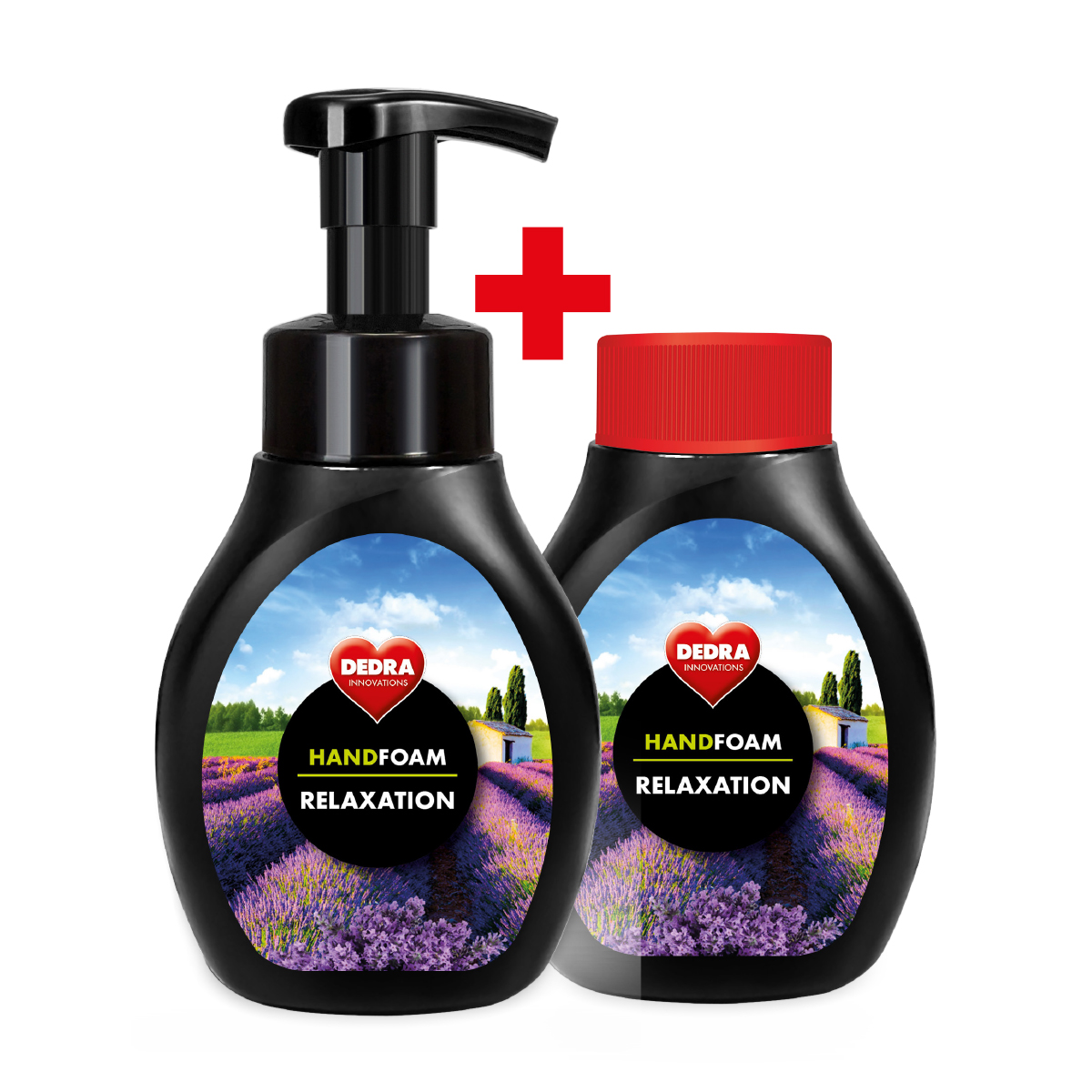 1+1 SADA pěnové mýdlo na ruce i tělo RELAXATION