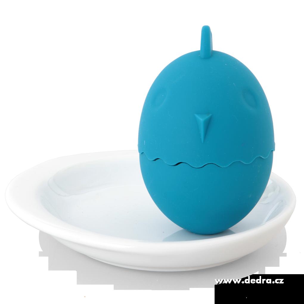Stojánekna snídaňová vejcetyrkysový