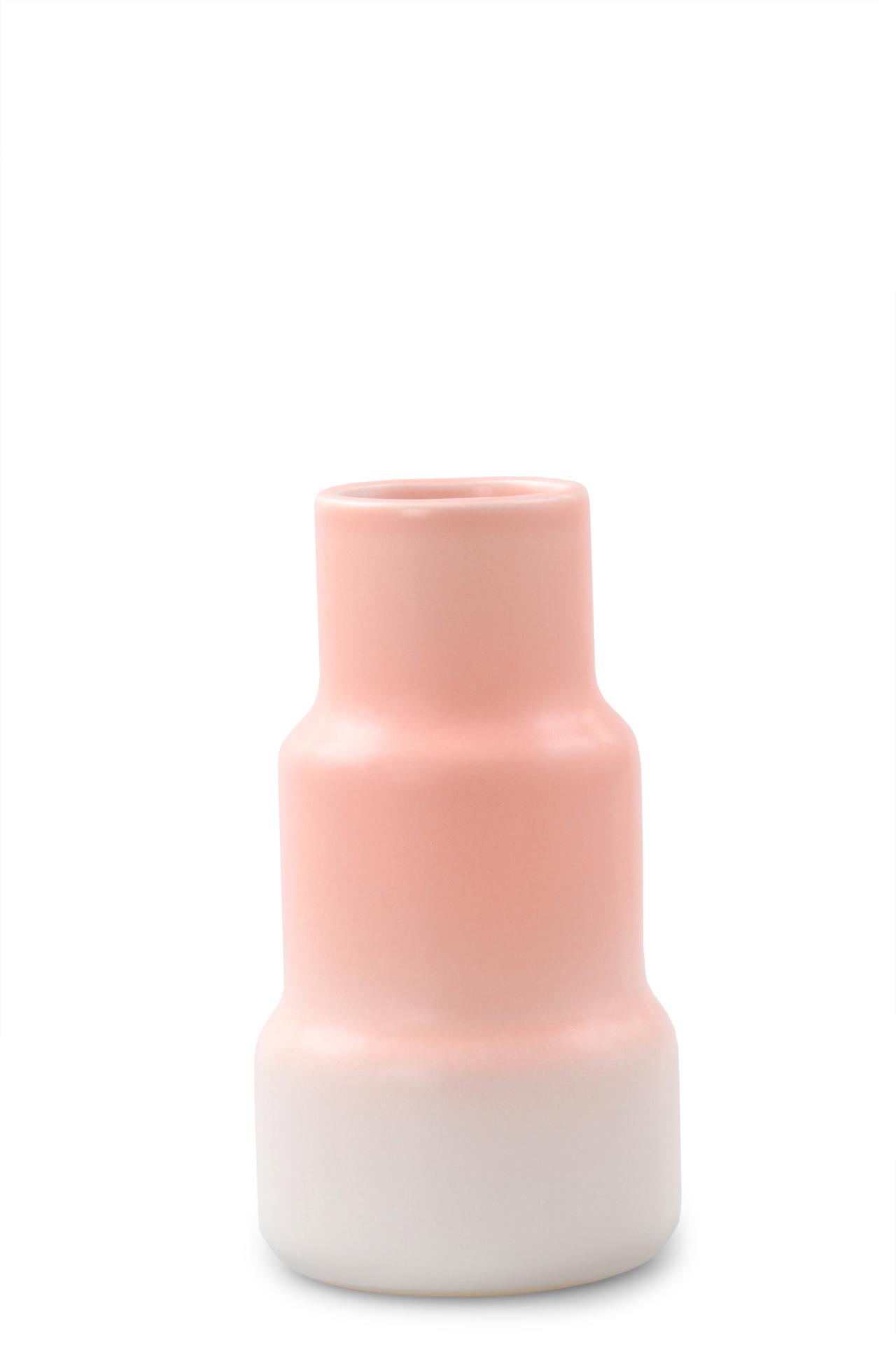 3ks keramické vázy, pastelové barvy, výška 13 cm