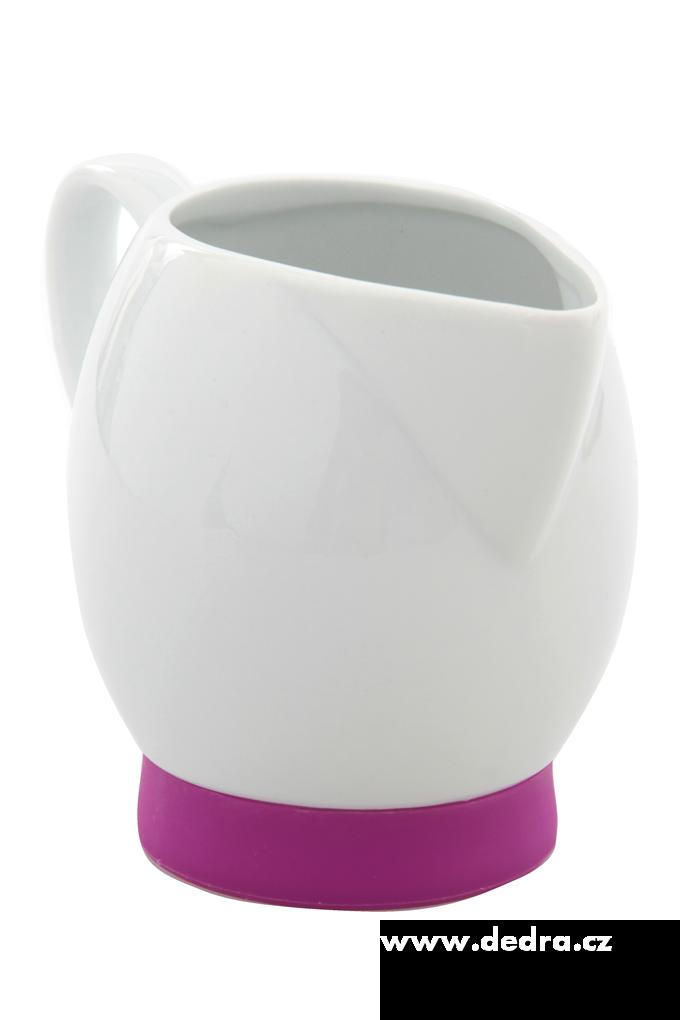 Porcelánová mléčenka  fuchsiová