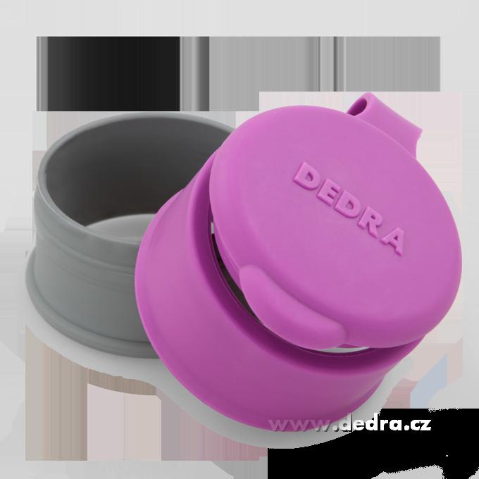 DA6605-Uzáver na sáčok fialový priemer cca 6,5 cm