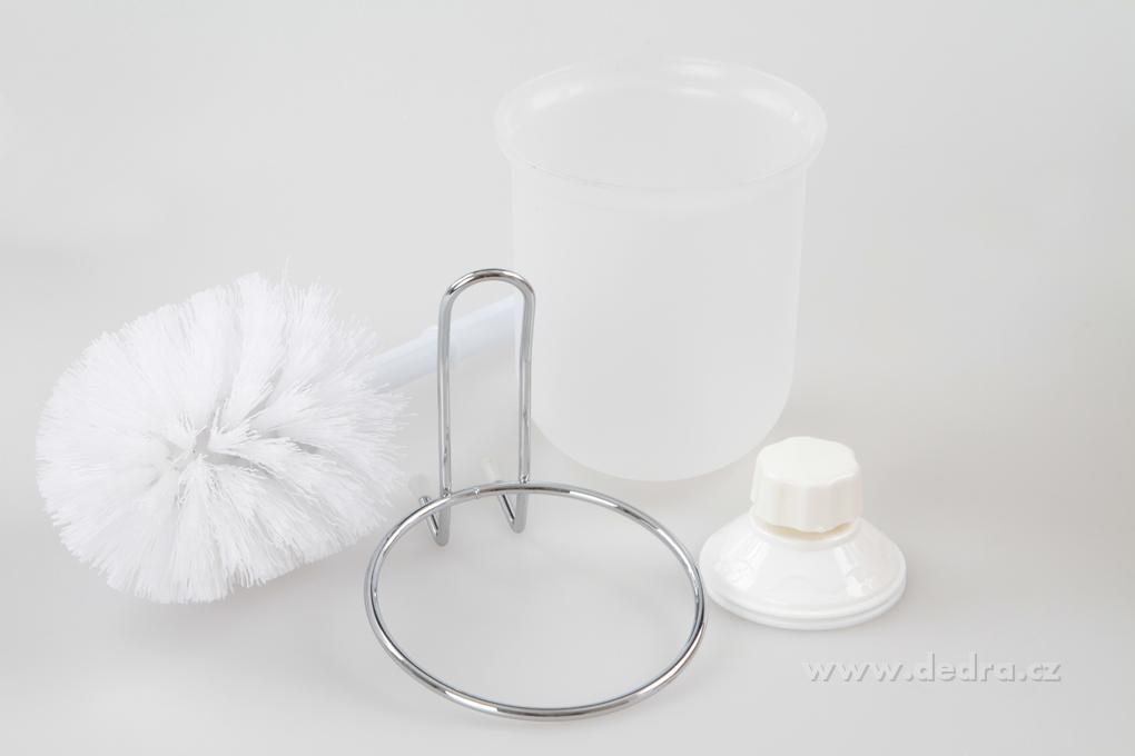 Závěsný držák WC štětky s přísavkou