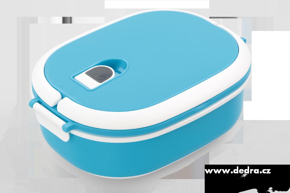 Bento lunch box box na potraviny modrý