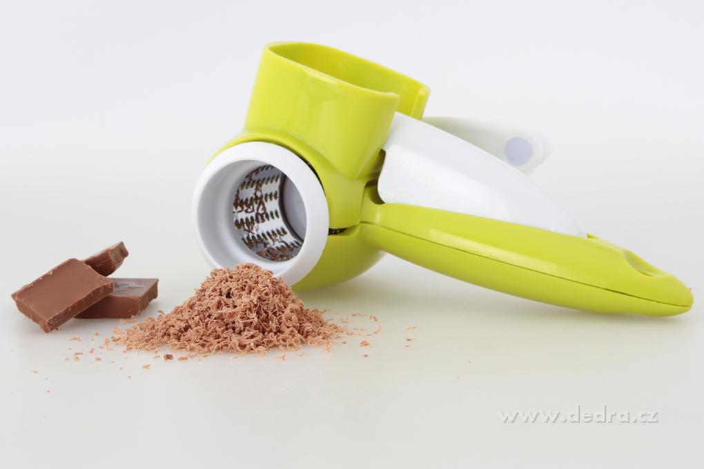 Ruční rotační struhadlo MULTISTRUHADLO  na parmezán, sýry, čokoládu