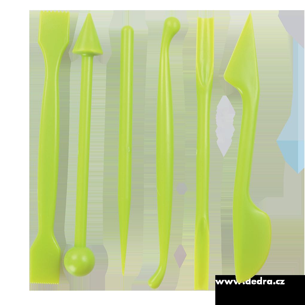 6 ks tvarovacích a modelovac. kostic na marcipán a jiné hmoty