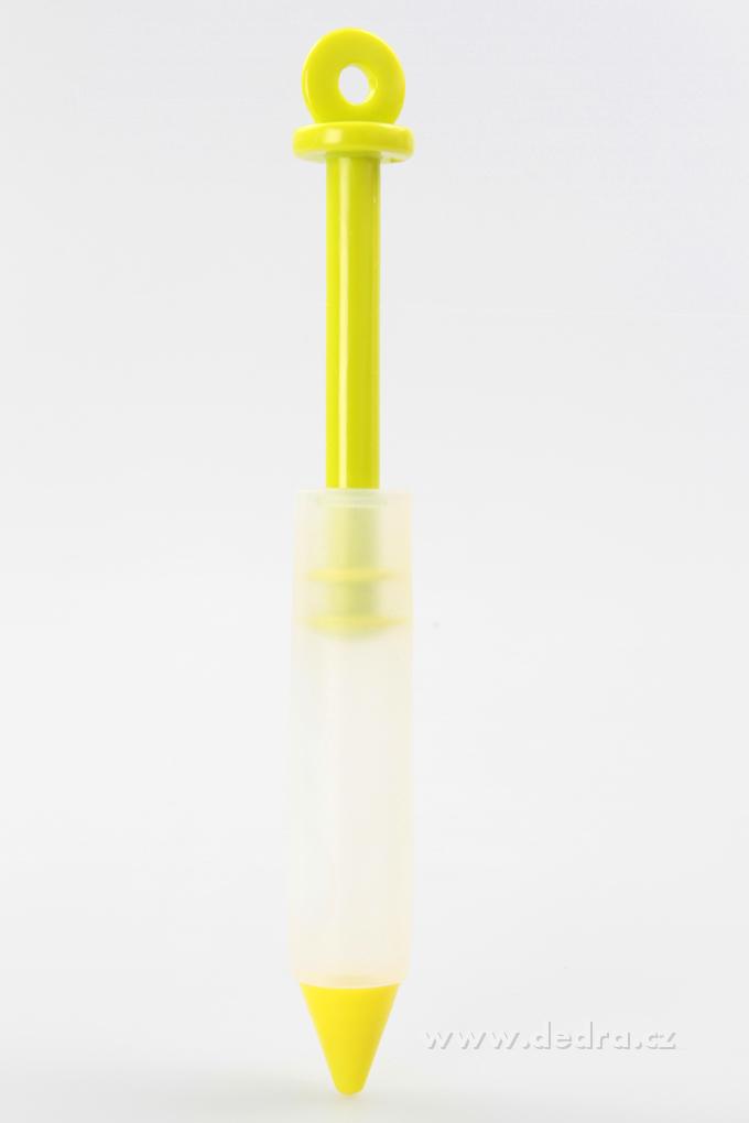 DA6430-CONTOUR PEN cukrárske zdobítko zelené s úzkym hrdlom
