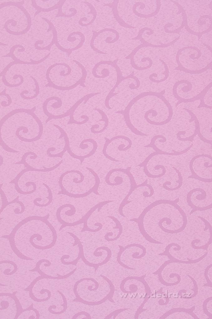 Ubrus s motivem 160 x 240 cm šeříkový