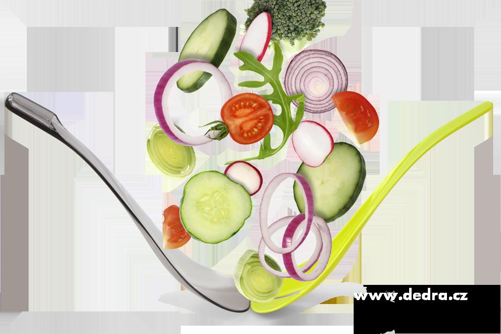 Salátové kleště 2v1, servírovací a míchací