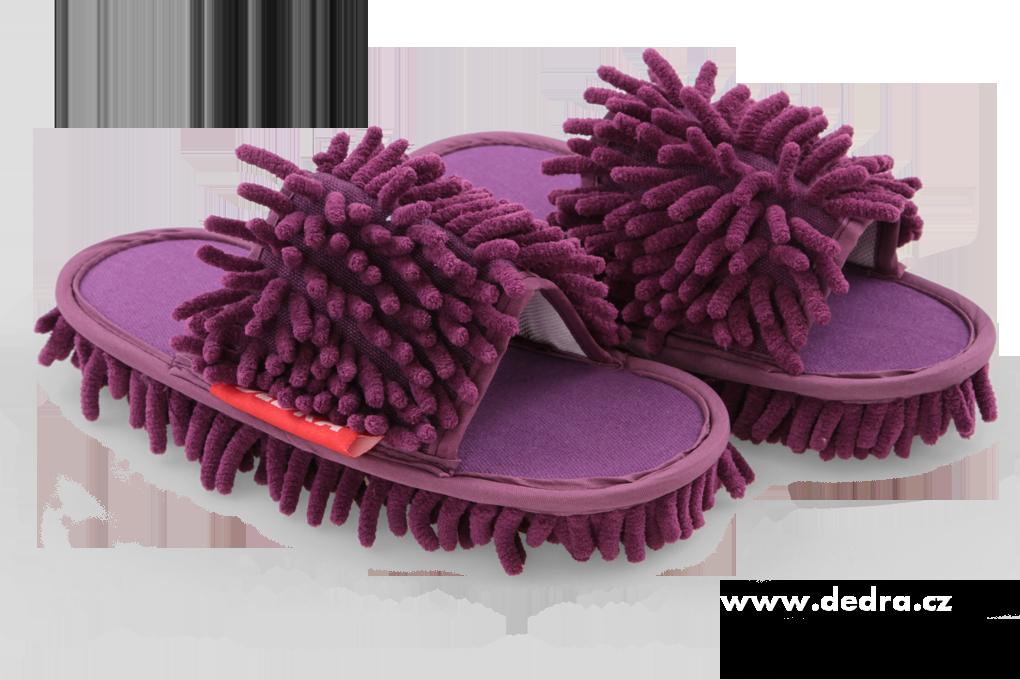 """""""Kapciopolerki"""" obuwie czyszcz±ce, 1 para fioletowe, rozm. 36-40"""