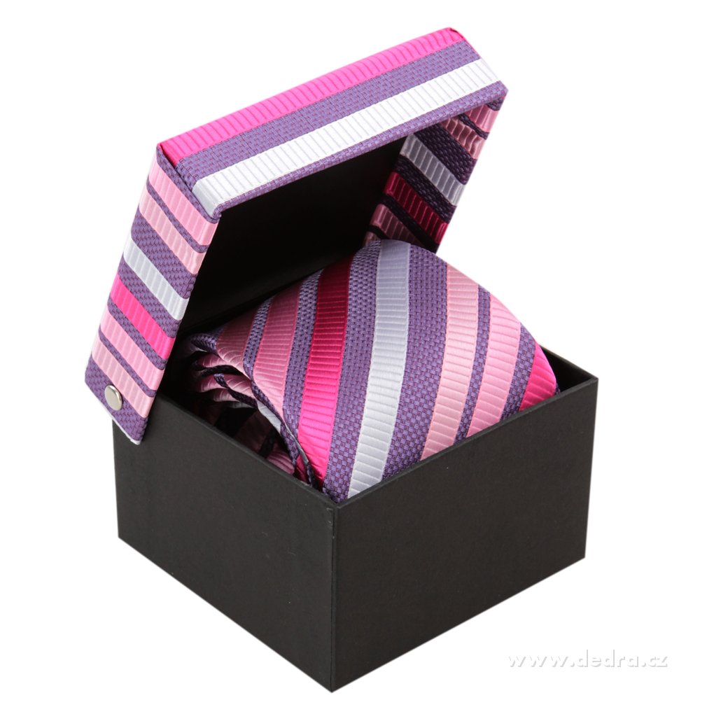 Etienne pánská hedvábná kravata
