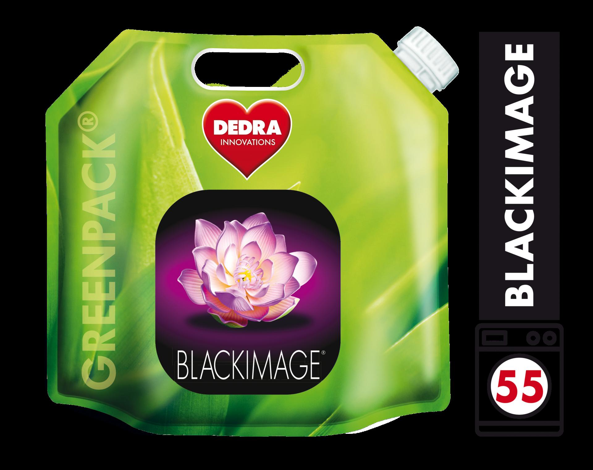 BLACKIMAGE gel praní černého a tmavého prádla, koncentrovaný, v obalu GREENPACK