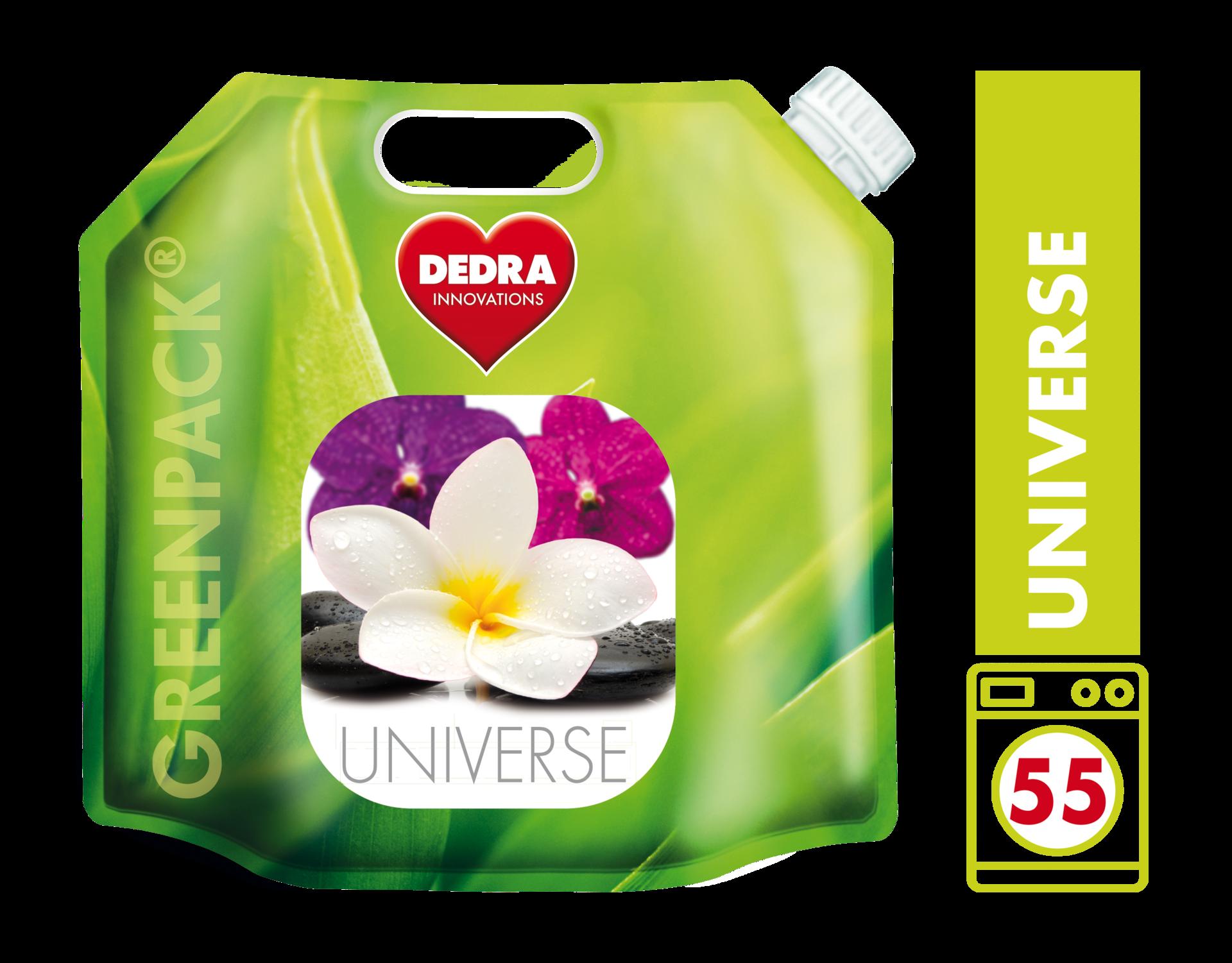 UNIVERSE gel na praní, bílého i barevného prádla, v obalu GREENPACK