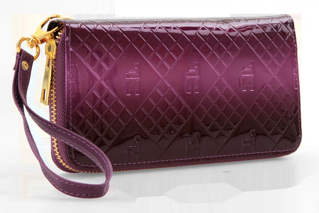 Luxusní dámská peněženka s FC monogramem