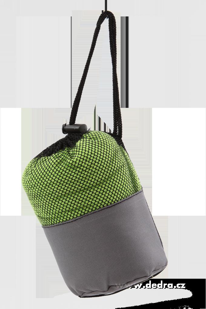 XXL ultrasavá podložka/ručník  jasně zelená