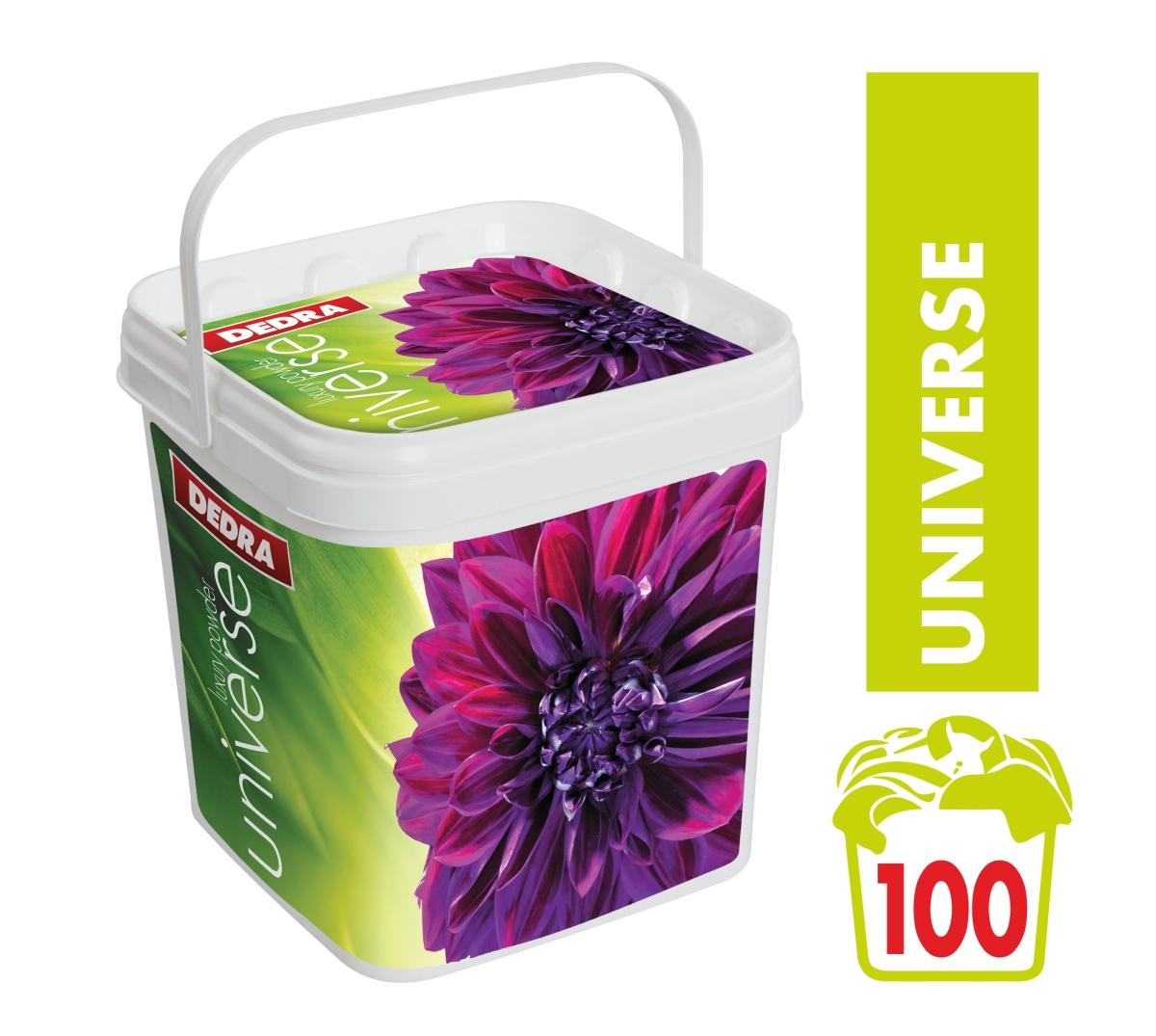 UNIVERSE 100 PRANÍ na bílé i barevné, 5 kg + box koncentrovaný univerzální prášek