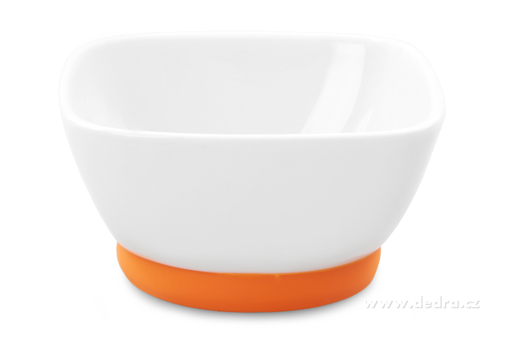 """Porcelánová mísa """"M"""", 200 ml, oranžová"""