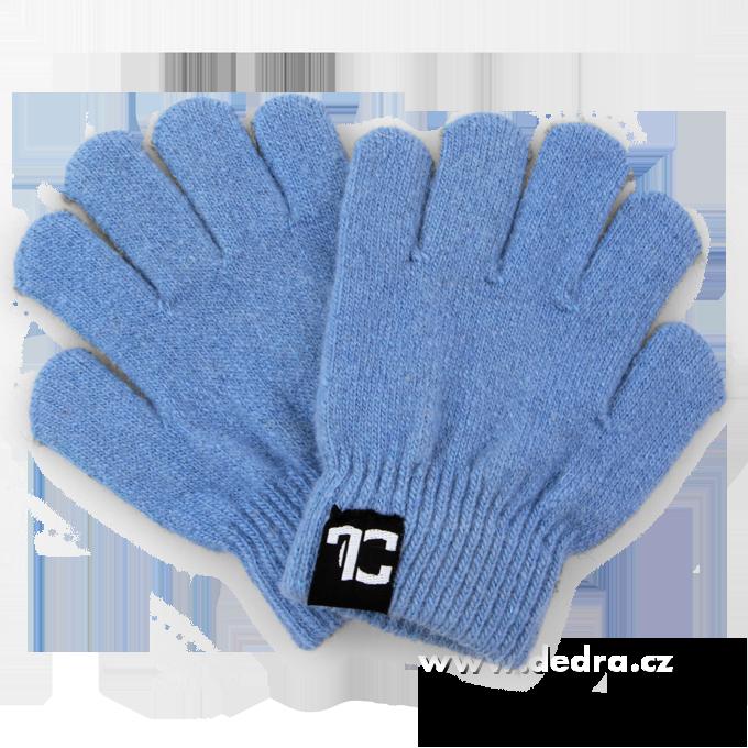 Dětské prstové, rukavice - modré