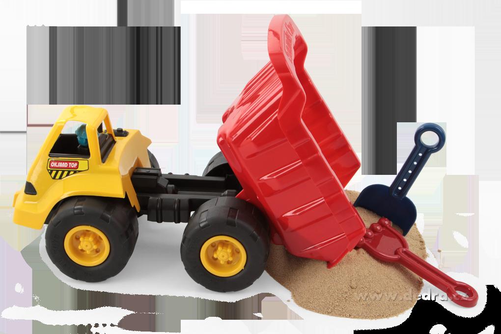 Velké nákladní auto, 7dílná sada na písek
