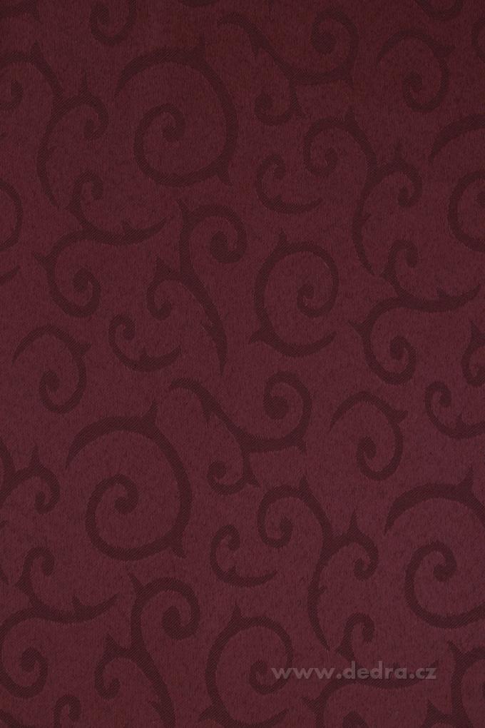 Ubrus na stůl 140 x 140 cm čokoládový