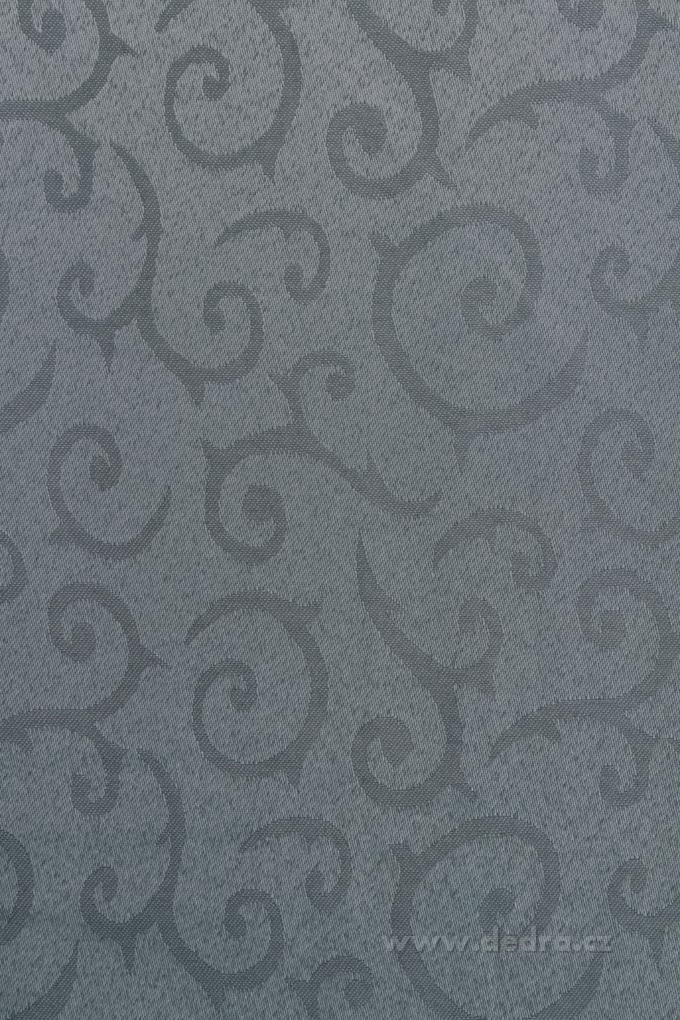 Ubrus na stůl140 x 140 cmšedostříbný