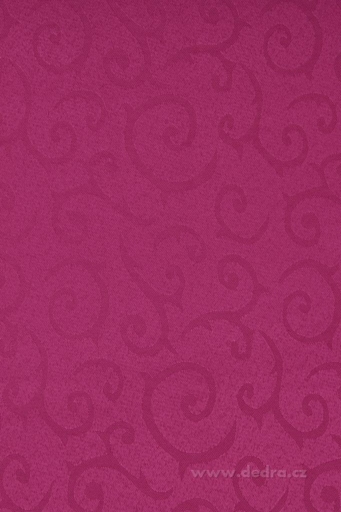 Ubrus na stůl140 x 140 cmslavnostní fuchsiový