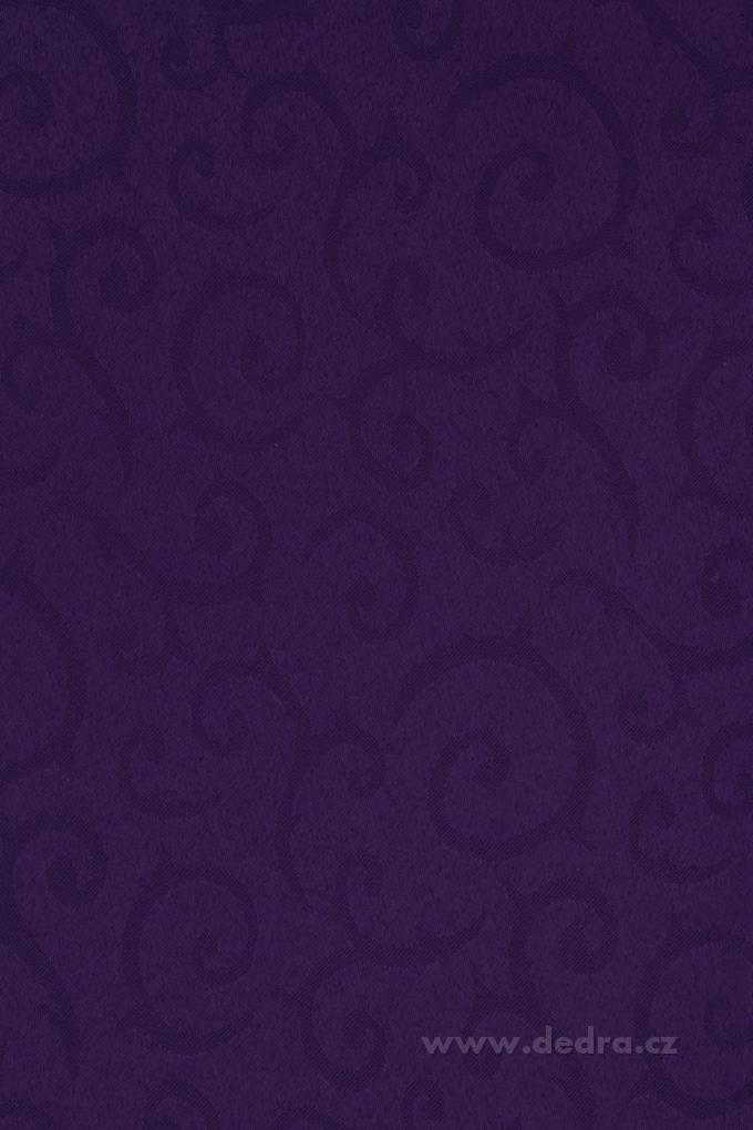 Ubrus na stůl 140 x 140 cm královsky fialový