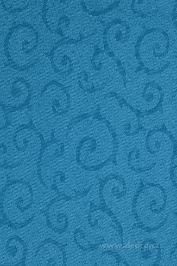 Ubrus na stůl 140 x 140 cm nebesky modrý