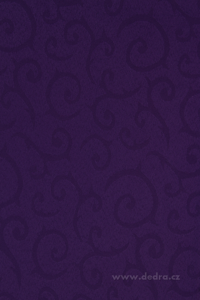 Ubrus na stůl 140 x 180 cm královsky fialový