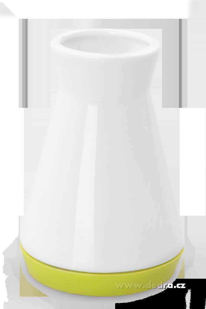 Dóza na párátkajasně zelenáporcelán/silikon