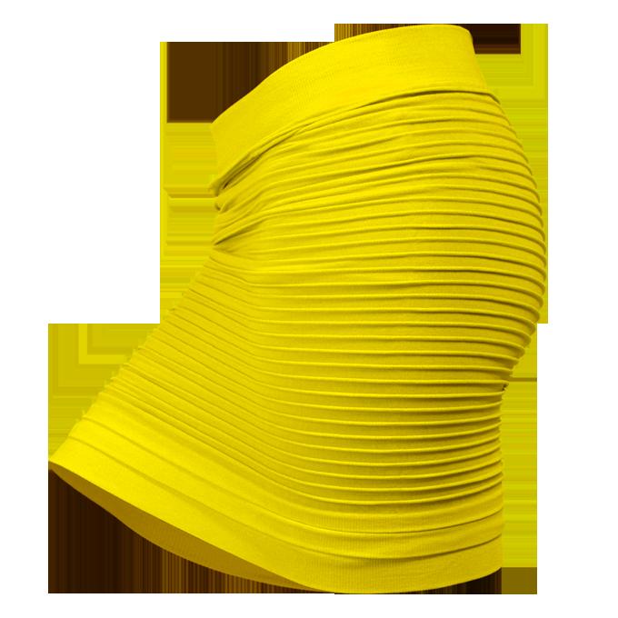 Maribel 2v1 minisukně nebo top žlutá